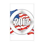 2013 Round Logo Mini Poster Print