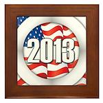 2013 Round Logo Framed Tile