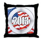 2013 Round Logo Throw Pillow