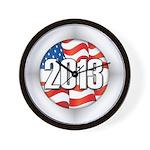 2013 Round Logo Wall Clock