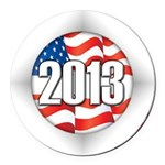 2013 Round Logo Round Car Magnet