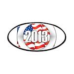 2013 Round Logo Patches