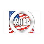 2013 Round Logo 35x21 Wall Decal