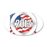 2013 Round Logo 35x21 Oval Wall Decal