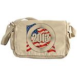 2013 Round Logo Messenger Bag