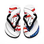 2013 Round Logo Flip Flops