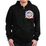 2013 Round Logo Zip Hoodie (dark)