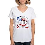 2013 Round Logo Women's V-Neck T-Shirt