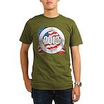2013 Round Logo Organic Men's T-Shirt (dark)