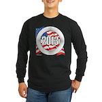 2013 Round Logo Long Sleeve Dark T-Shirt