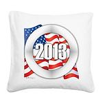 2013 Round Logo Square Canvas Pillow