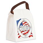 2013 Round Logo Canvas Lunch Bag