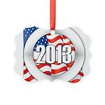 2013 Round Logo Picture Ornament