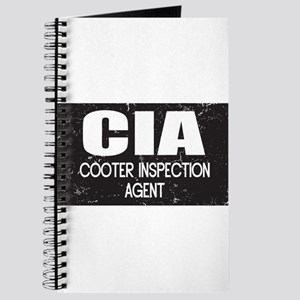 CIA: Cooter Inspection Agent Journal