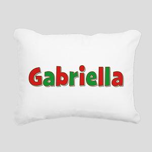 Gabriella Christmas Rectangular Canvas Pillow