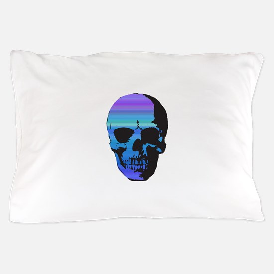 Colorful Skull Pillow Case