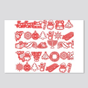 Christmas Gift Postcards (Package of 8)