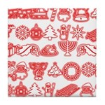 Christmas Gift Tile Coaster