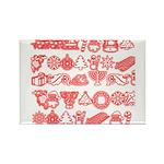 Christmas Gift Rectangle Magnet (100 pack)