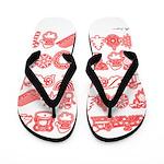 Christmas Gift Flip Flops