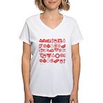 Christmas Gift Women's V-Neck T-Shirt