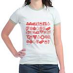 Christmas Gift Jr. Ringer T-Shirt