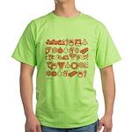 Christmas Gift Green T-Shirt