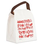 Christmas Gift Canvas Lunch Bag