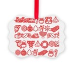 Christmas Gift Picture Ornament