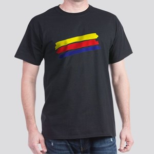 Colorful Paint Dark T-Shirt