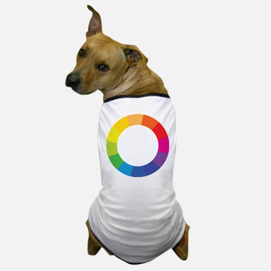 Color Wheel Dog T-Shirt