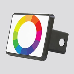 Color Wheel Rectangular Hitch Cover