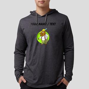 Custom German Boar Mens Hooded Shirt