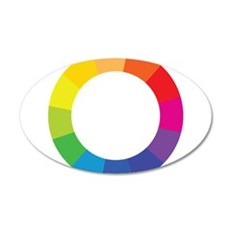 Color Wheel Wall Decal
