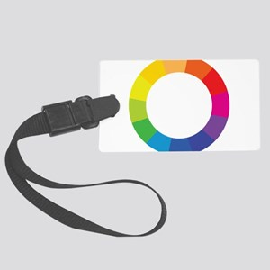 Color Wheel Large Luggage Tag