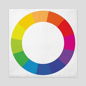 Color Wheel Queen Duvet