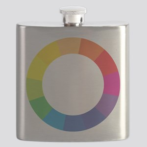 Color Wheel Flask