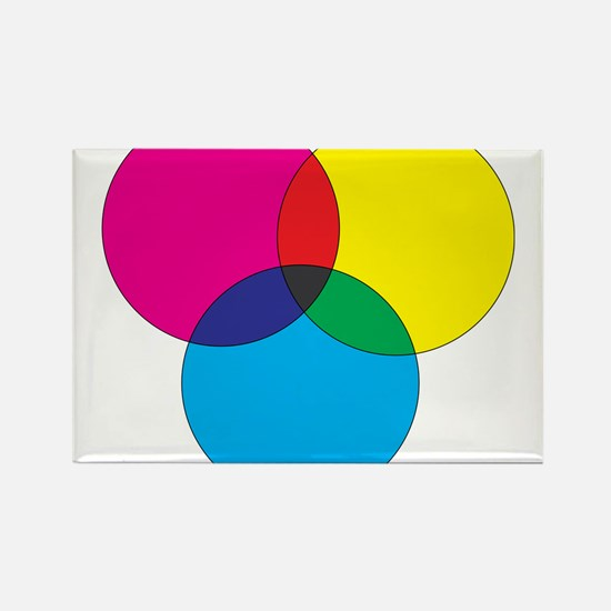 Colors Rectangle Magnet