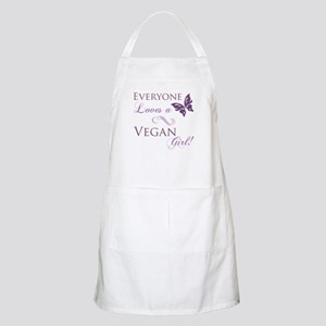 Vegan Girl Apron