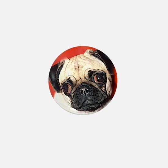Pug Gifts 1 Mini Button