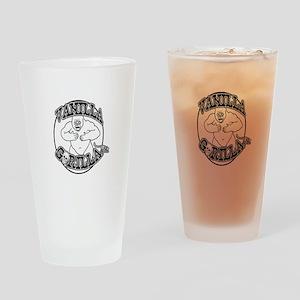Vanilla Gorilla Ink Big Logo Drinking Glass