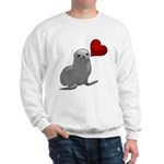 Baby Seal Club and Release Sweatshirt