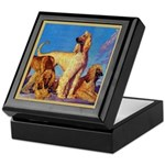 Afghan Hounds Keepsake Box