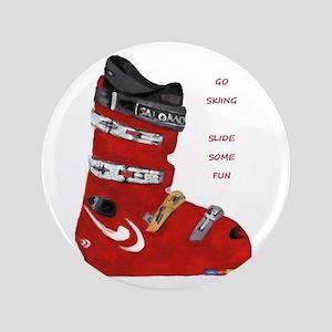 """ski boot 3.5"""" Button"""