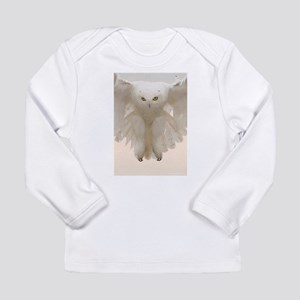 Ghost Owl Long Sleeve Infant T-Shirt
