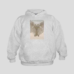 Ghost Owl Kids Hoodie