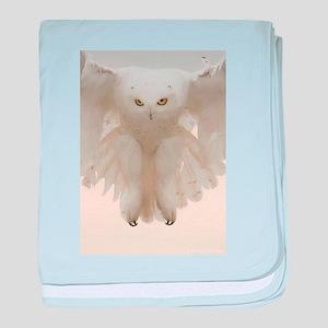 Ghost Owl baby blanket