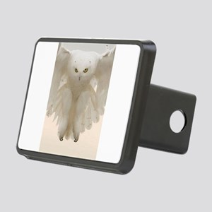 Ghost Owl Rectangular Hitch Cover