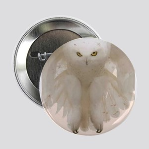 "Ghost Owl 2.25"" Button"