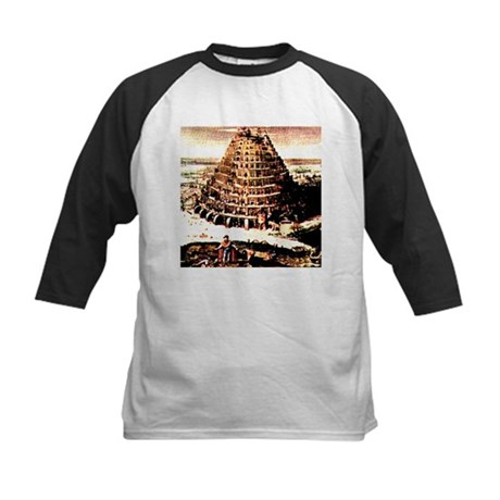 Tower of Babel Kids Baseball Jersey